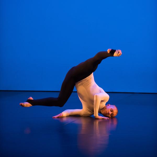 Dancer Jordan James Bridge in performance