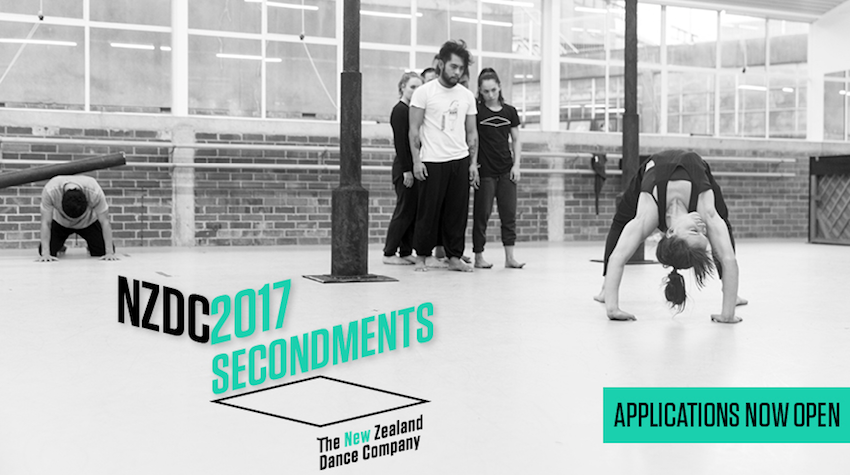 New Zealand Dance Company 2017 Secondments