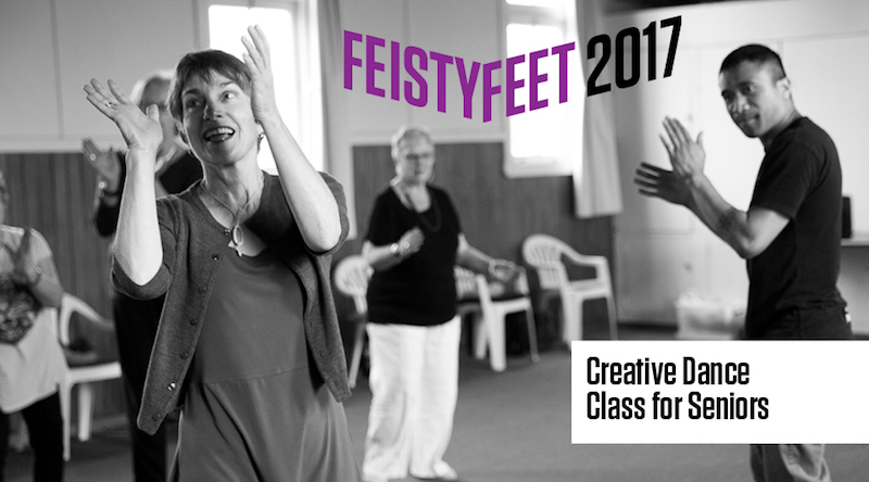 New Zealand Dance Company 2017 Creative Dance Classes for Seniors