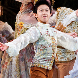 Figure skater Nathan Chen in Ballet West's The Sleeping Beauty in 2011