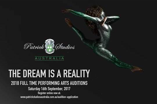 Patrick Studios Australia 2018 Full Time Performing Arts Auditions