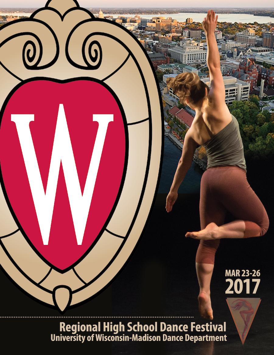 Regional High School Dance Festival in Madison, Wisconsin in March 2017