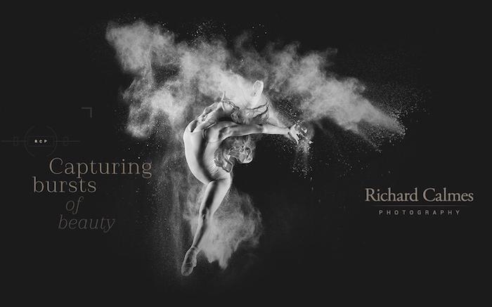 Dance Photographer Richard Calmes' New Website