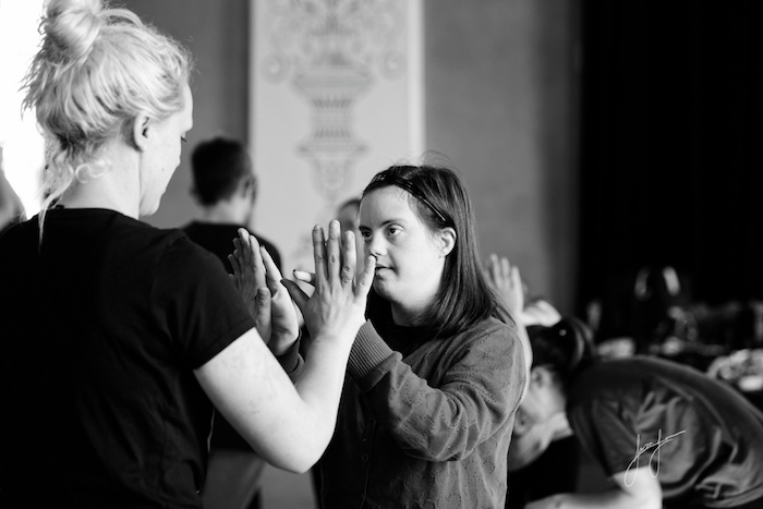 Creative dance workshops for people with and without disability