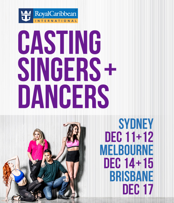 Royal Caribbean Auditions in 3 Cities - Dance Informa Australia