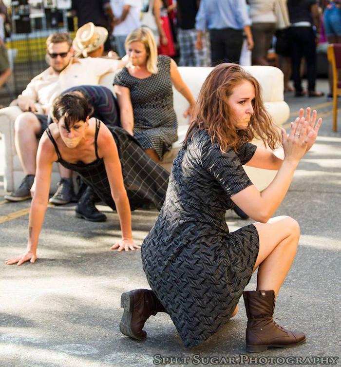 Sidewalk Detroit festival - dancers