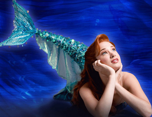 Sierra Boggess as Ariel in Broadway's Little Mermaid