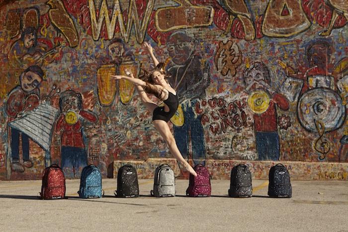 Dancer backpacks and duffles