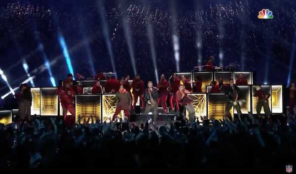 Super Bowl LII Halftime Show with Justin Timberlake