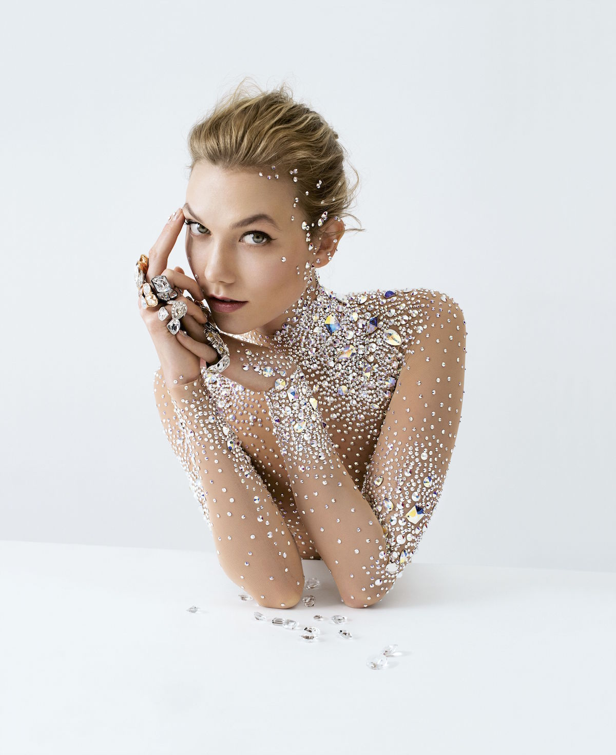 Karlie Kloss for the Brilliant Inspiration campaign