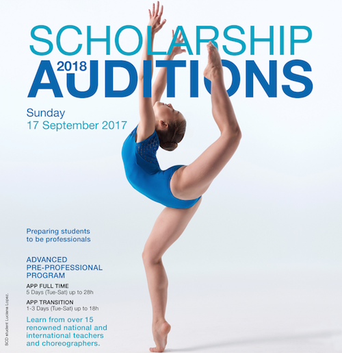 Full Time Dance 2018 Scholarship Auditions