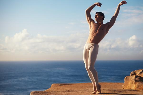 Male Ballet Dancer in Australia