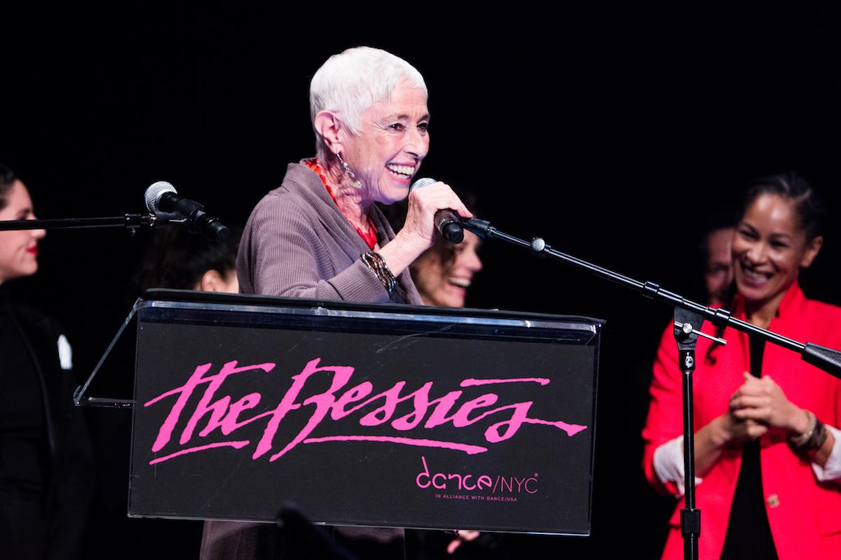 2016 Bessie for Lifetime Achievement in Dance