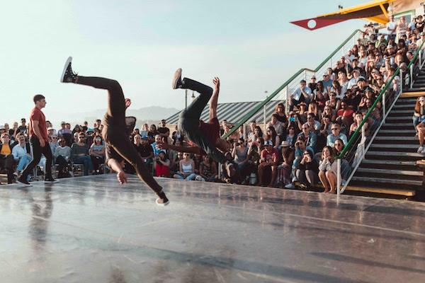 Santa Monica Pier Dance Shows