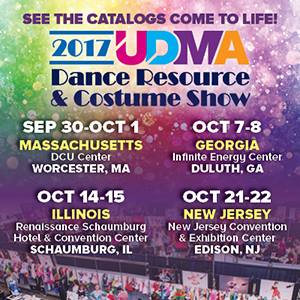 2017 UDMA Dance Resource and Costume Show Tour