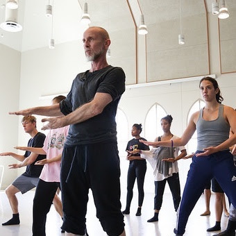 Paul Taylor choreography taught at USC Kaufman