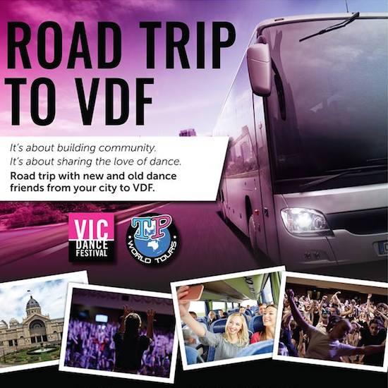 2018 Energetiks Victorian Dance Festival Dance Bus