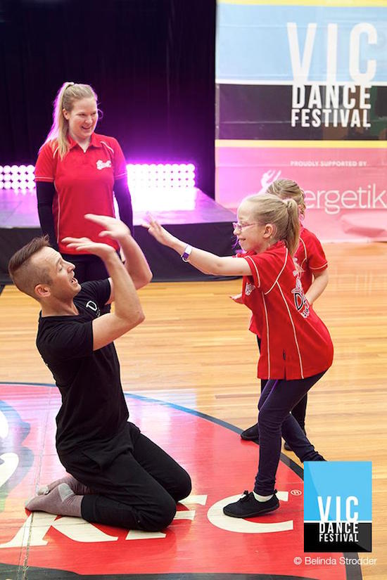 Dance event in Victoria Australia