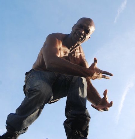 Street dancer Vincent Foster