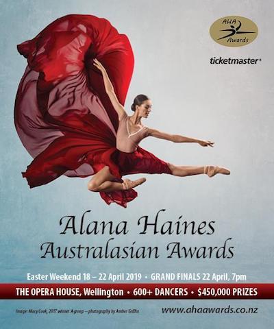2019 Alana Haines Australasian Awards