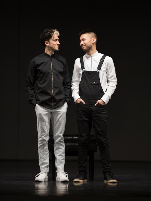Caleb Teicher collaborates with Conrad Tao