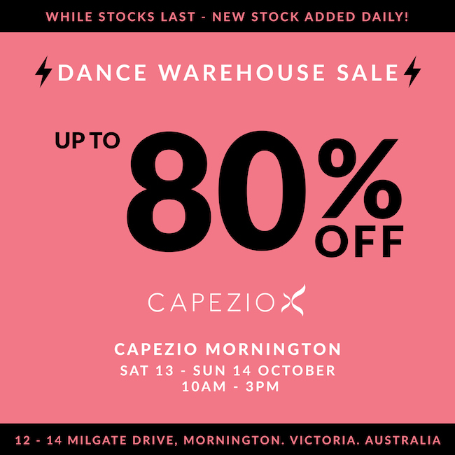 Dance Clothing Sale Victoria Australia