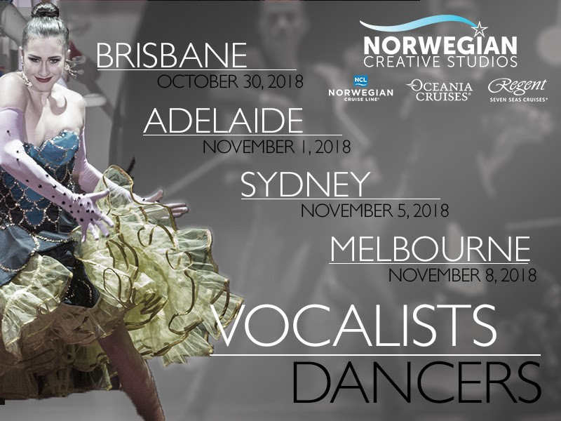 Australian Cruise Auditions