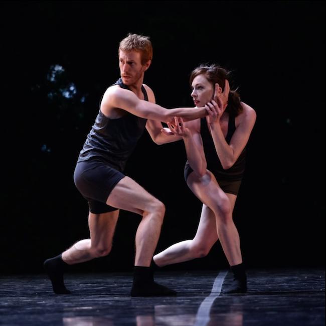 Oregon Ballet Theatre dancers Chauncey Parsons and Katherine Monogue