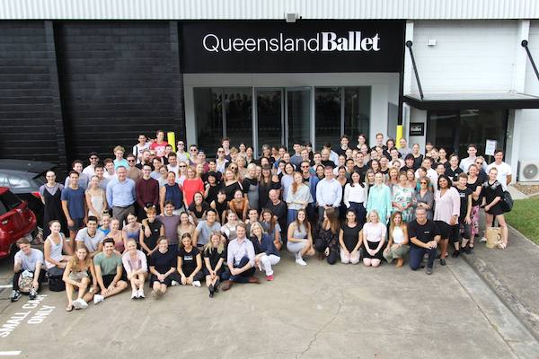 QLD Ballet's new temporary home