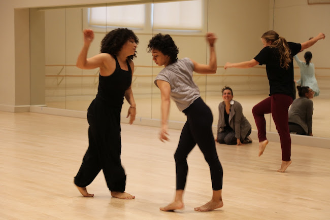 Ana Maria Alvarez works with dancers and USC Kaufman students
