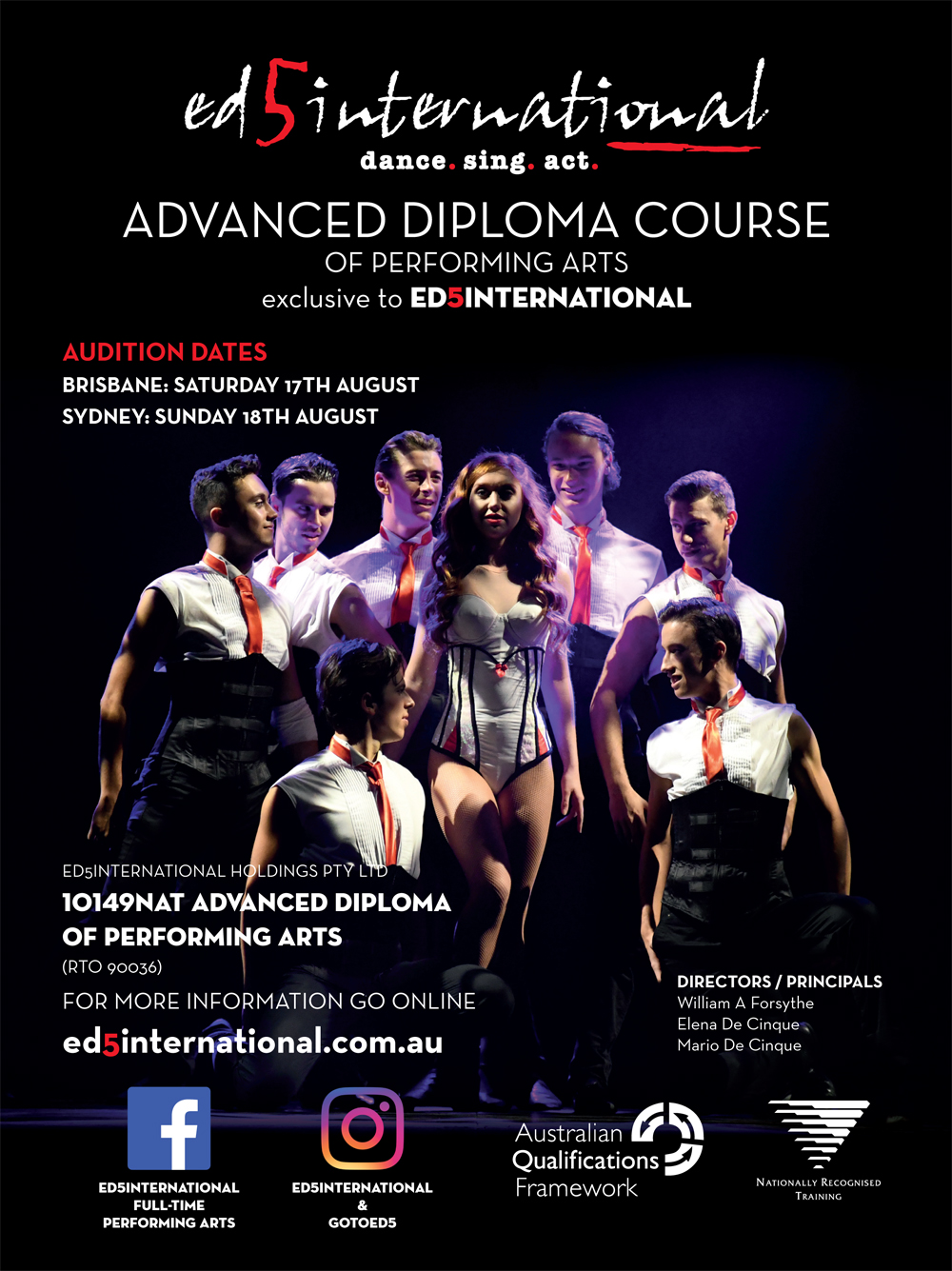 ED5 International Auditions