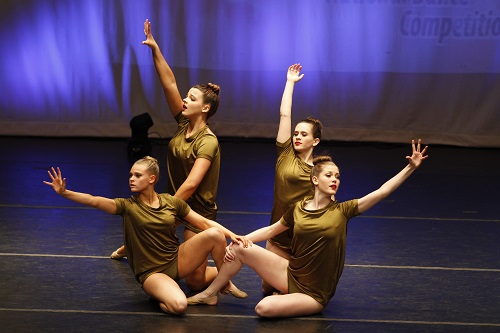 Leap dance competition