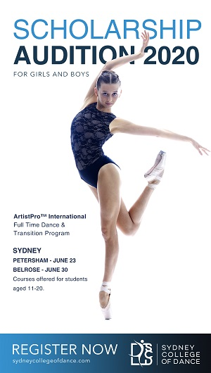 Sydney College of Dance Audition