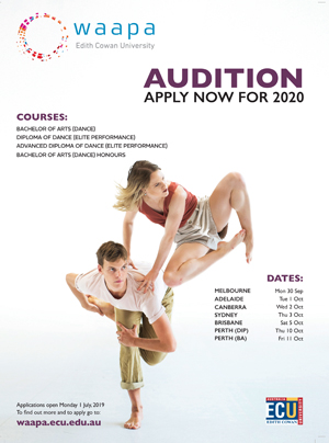 WAAPA auditions