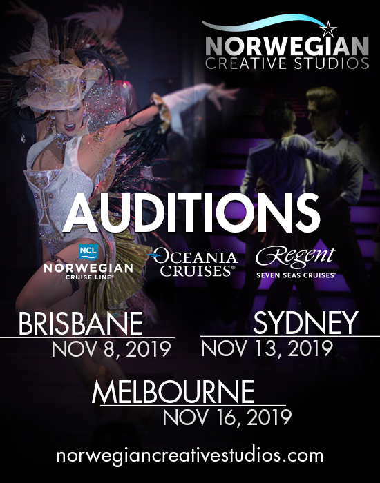 Dancer auditions cruise ship
