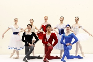 Ballet scholarship dancers