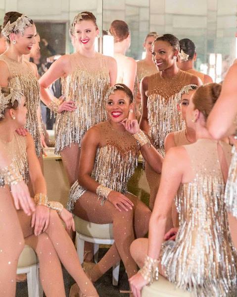 3e16dcfb05858 The Radio City Rockettes Opened the Chita Rivera Awards