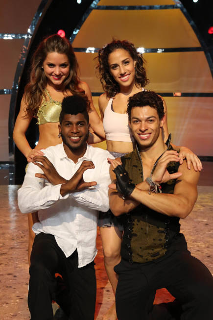 So You Think You Can Dance Top 4 Tiffany, Eliana, Cyrus, Chehon