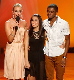 Cat Deeley, Alexis and Curtis SYTYCD Season 10