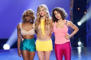 SYTYCD Amber, Tiffany, Eliana