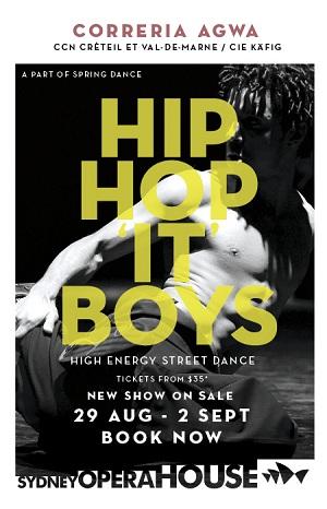Spring Dance Sydney Opera House Hip Hop