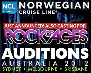 Auditions Rock of Ages, Norwegian Cruise Line