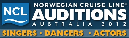 Cruise ship dance auditions