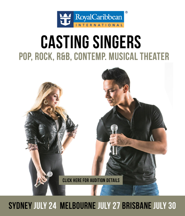 Singer auditions cruise Royal Caribbean