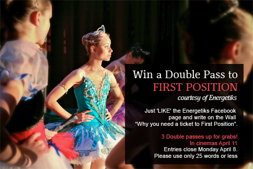 Win tickets First Position