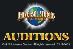 Universal Studios Japan auditions