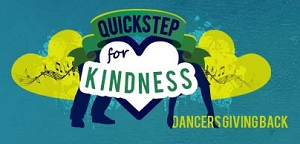 Quickstep for Kindness ballroom dance competition
